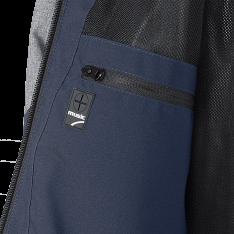 CYCLONE Soft Shell Jacket blue/gray