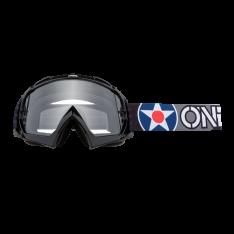 B-10 Goggle WARHAWK black/gray – Clear
